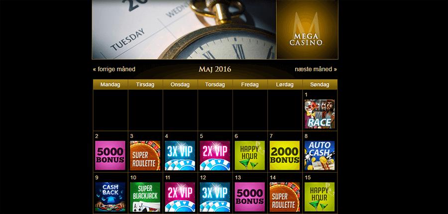 Mega-Casino-Kampagne-kalender