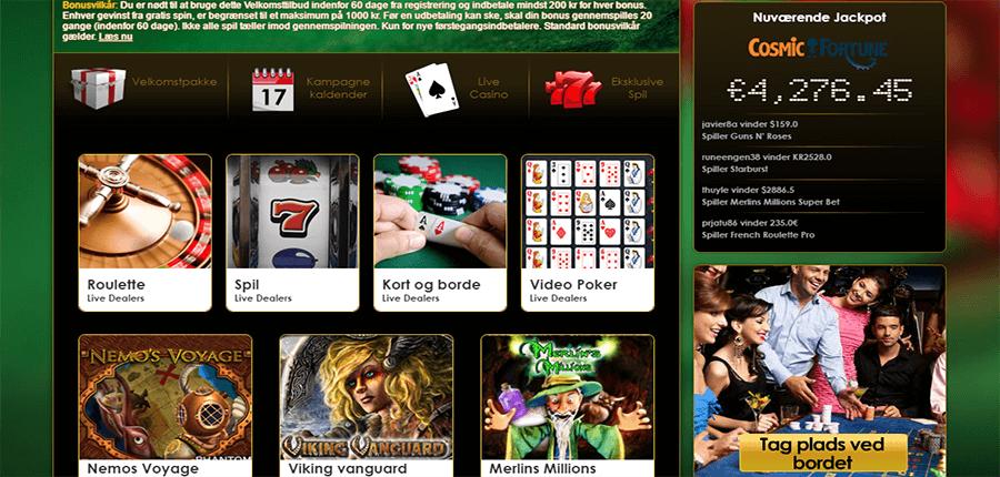 Mega-Casino-Spiludvalg