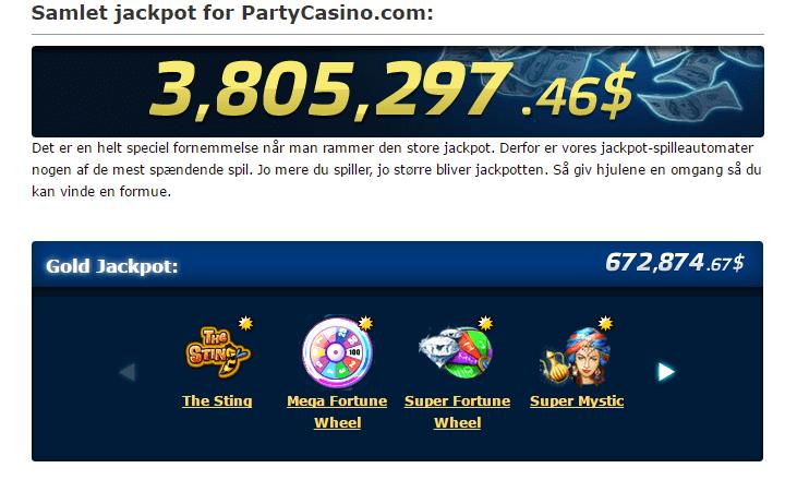 Super Jackpot Party- Gratis demo og anmeldelse