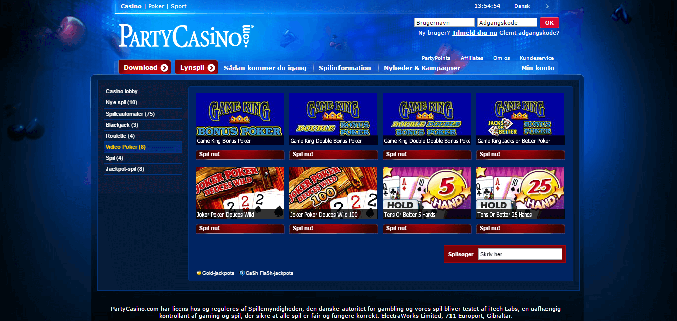Party-Casino_pokerspil