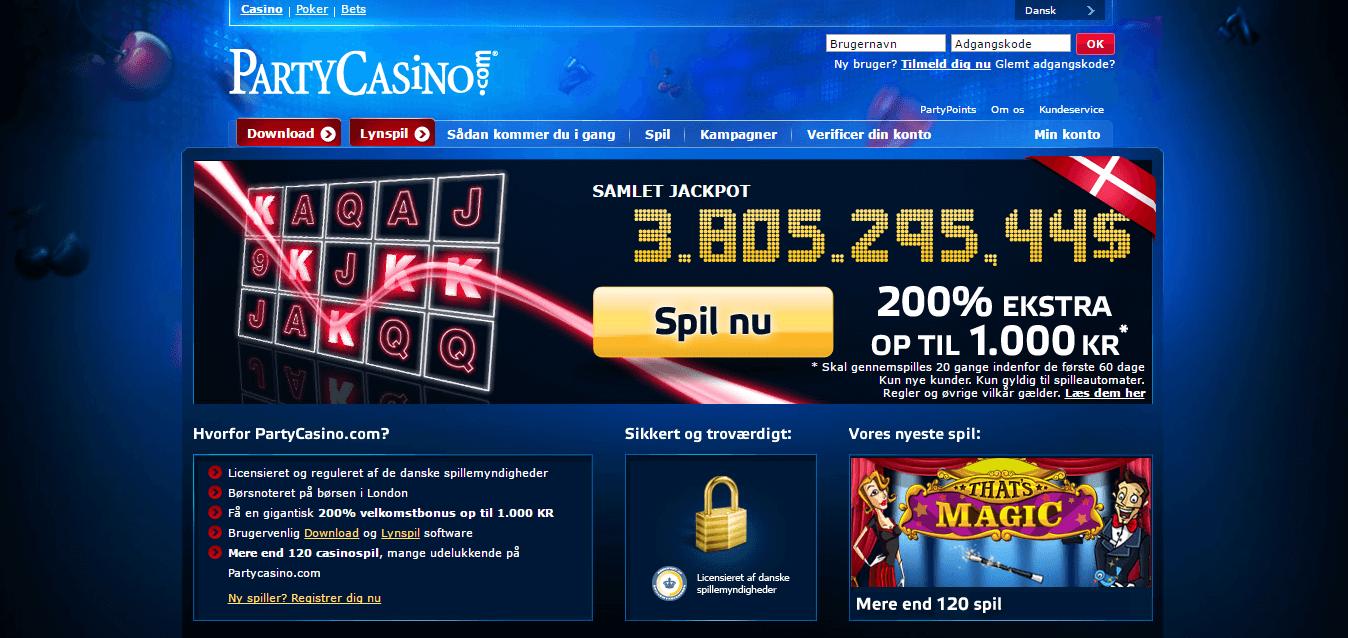 Bonuskode til partycasino seminole gaming palace casino