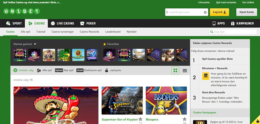 Unibet-Casino_forside
