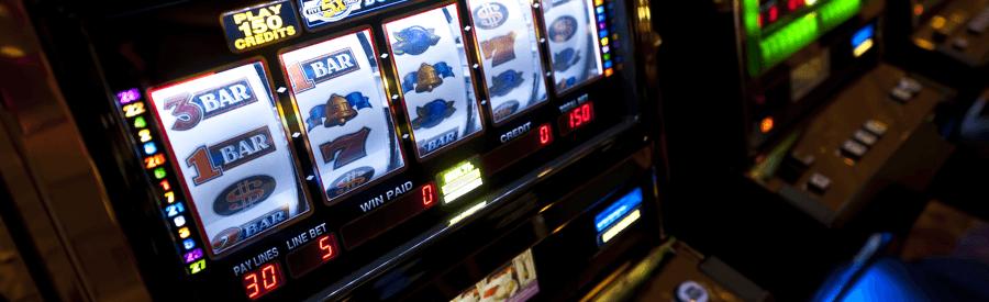 En klassisk enarmet tyveknægt fra Las Vegas