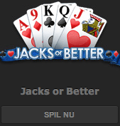 Casino kortspillet Jacks or Better