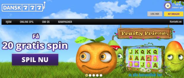 Fruity Friends slots - spil gratis NeoGames slotspil online