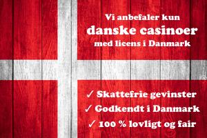 Casino godkendt i Danmark