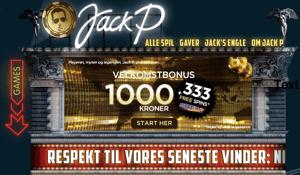 Spil på JackP.dk
