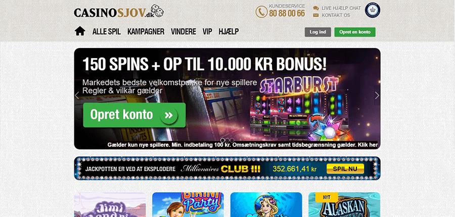 Casinosjov_forside