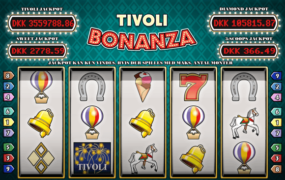 Tivoli Bonanza Slots - Play the Online Version for Free
