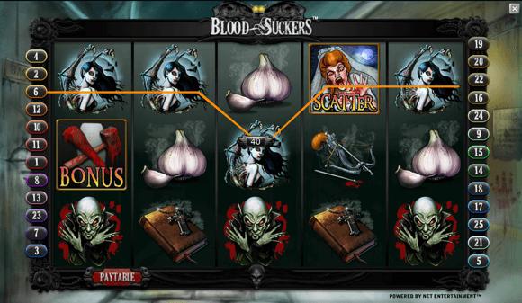 Blood Suckers spillemaskine