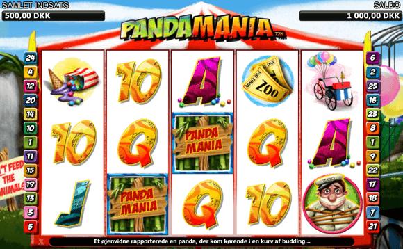 PandaMania spillemaskine