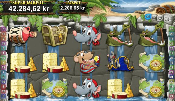 Pie Rats spillemaskine
