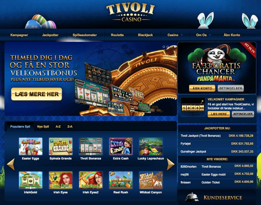 tivoli casino bonus kode