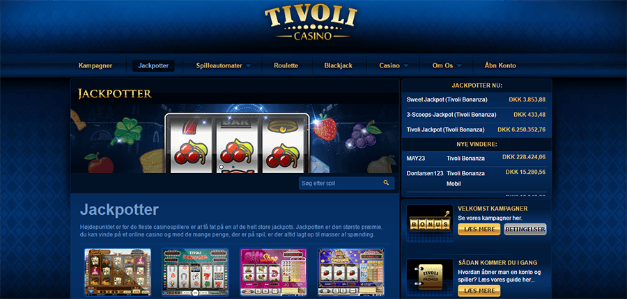 tivoli casino pa ipad