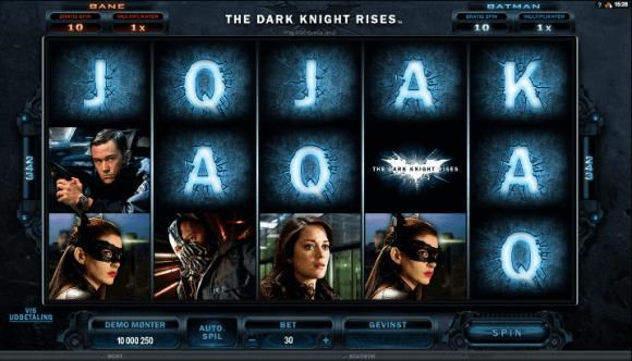Dark Knight Rises, TivoliCasino.dk