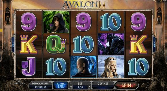 Avalon II, onlinecasionbonus.dk