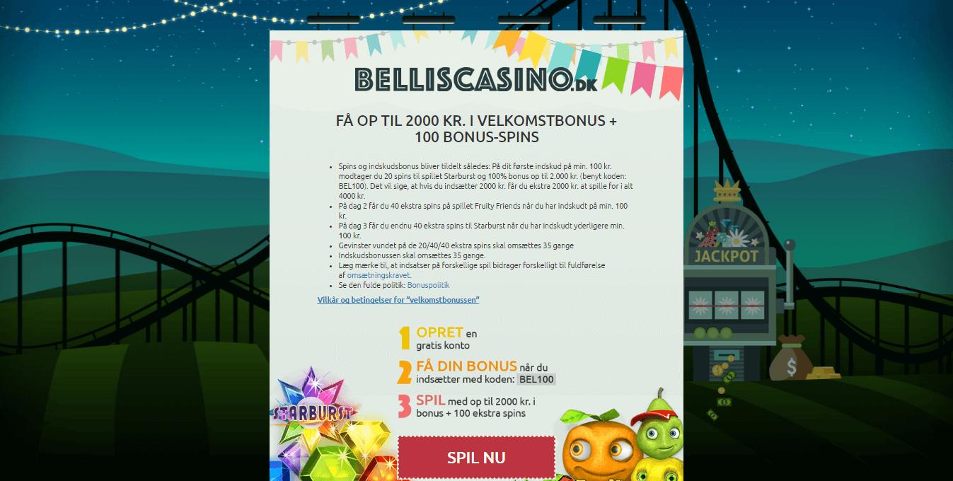 Bellis-Casino_velkomstbonus