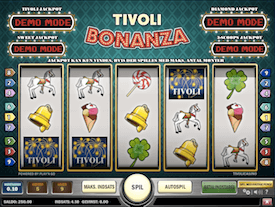 Tivoli Bonanza jackpot