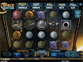 Space Venture jackpot