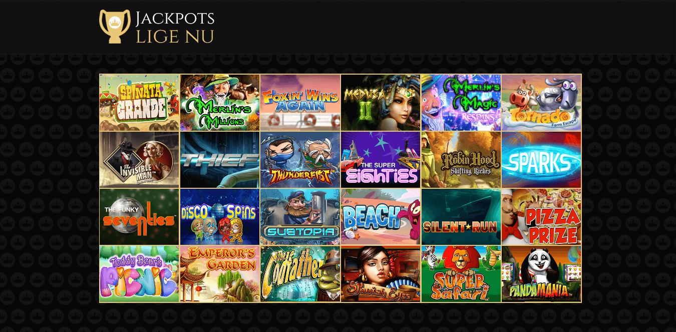 Royal-Casino_spiludvalg-og-jackpots
