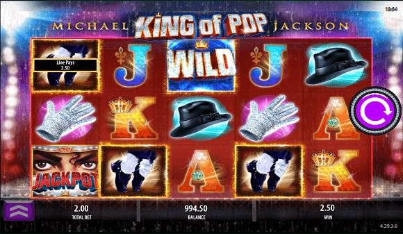 Michael Jackson spilleautomat