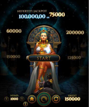 Egyptens prinsesse bonusspil