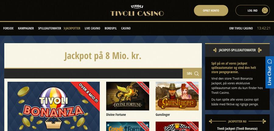 Tivoli Casino Bonuskode April 2017