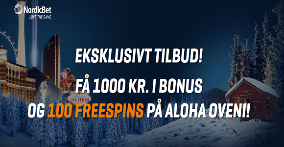 nordicbet vegas 100 free spins