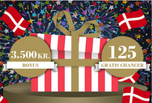 3.500 I velkomstbonus og 125 gratis chancer hos Tivoli casino