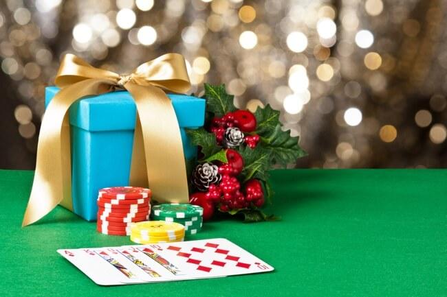 kerstkalenders van het casino in 2018