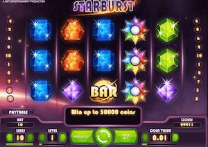 starbust spilleautomat