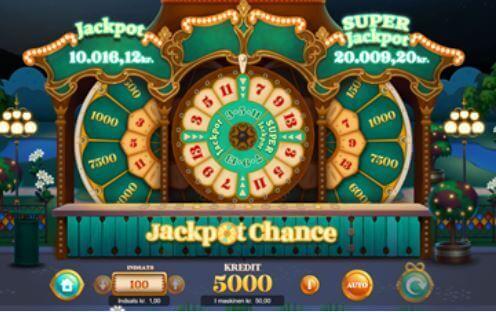 Slaraffenland Jackpot