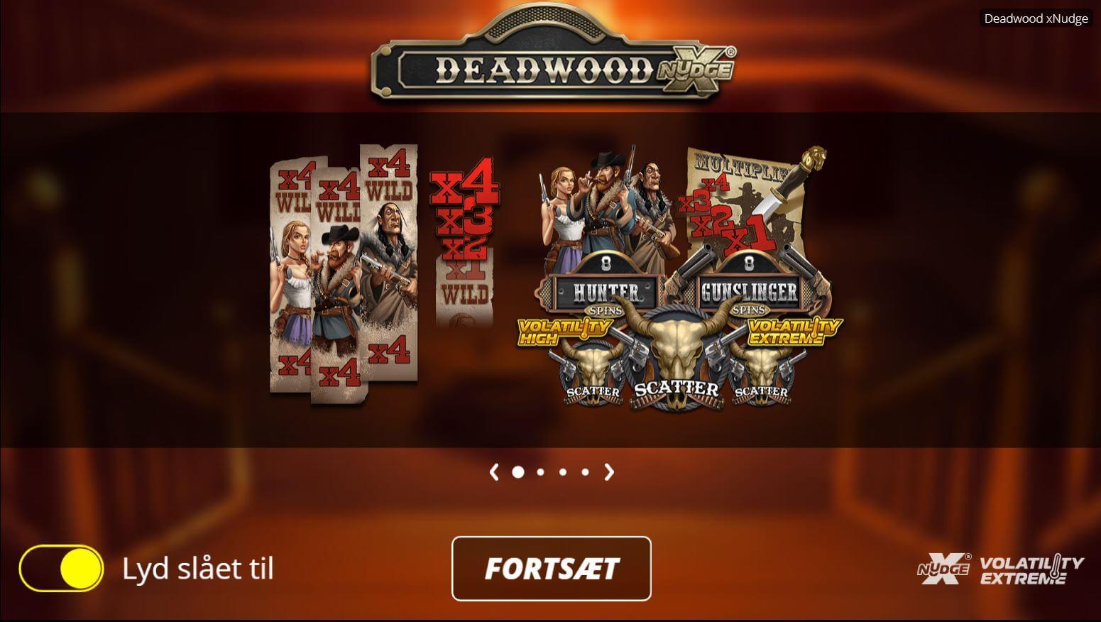 Deadwood spilleautomat