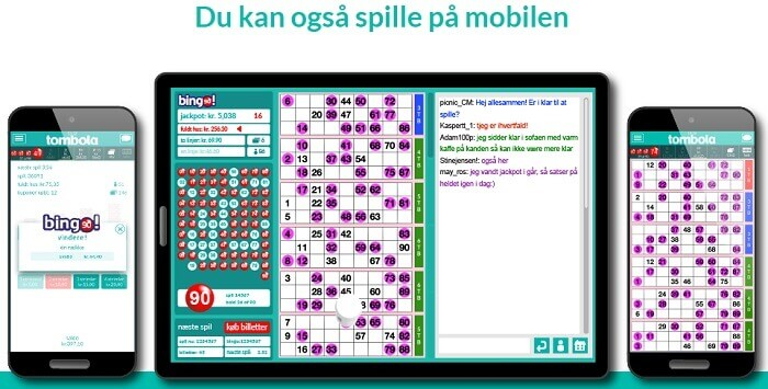 tombola DK app