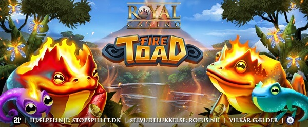 Fire Toad spilleautomat