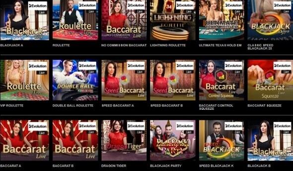 Mr Vegas Live Casino