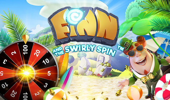 fin and the swirly spin spilleautomat